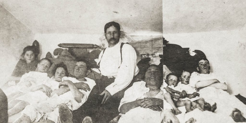 York County family suffering from smallpox